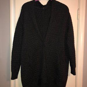 Charcoal grey size 4 lululemon sweater